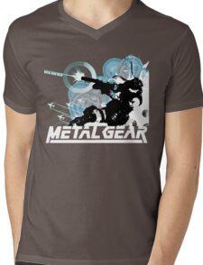 Metal Gear Mens V-Neck T-Shirt