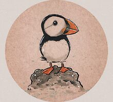 Just A Puffin. by Jorge Tirado