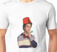 Fez wearing a fez and being the doctor  Unisex T-Shirt