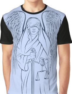 Blind Justice Graphic T-Shirt