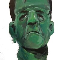 Frankenstein's Monster Painting by FlannelDave