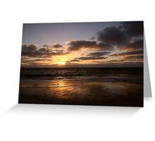 Thirsty Point Sunset Greeting Card