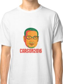 Ben Carson 2016 President Republican Retro Classic T-Shirt