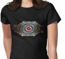 Dwarf Belt Buckle Womens Fitted T-Shirt