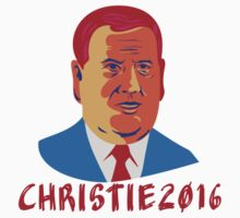 Christie 2016 President Retro by retrovectors