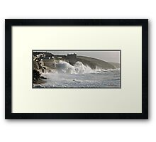 """ Natures Fury"" Framed Print"