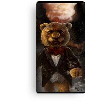 Snazzy Teddy  Canvas Print