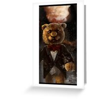 Snazzy Teddy  Greeting Card