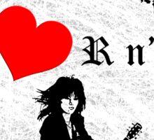 i heart Joan Jett Sticker