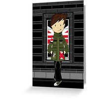 Mod Boy Greeting Card