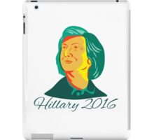 Hillary Clinton 2016 President Democrat Retro iPad Case/Skin