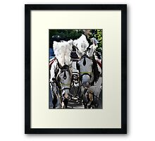 Smart Feathered Ponies Framed Print