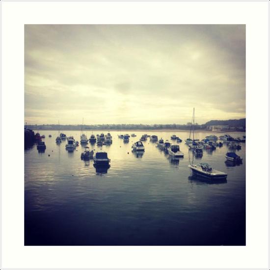 Gorey Boats by Gillian Blair