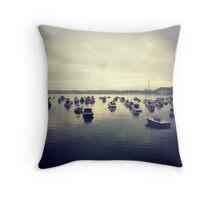 Gorey Boats Throw Pillow