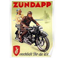 Zundapp Motorcycles Poster