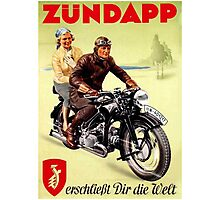 Zundapp Motorcycles Photographic Print