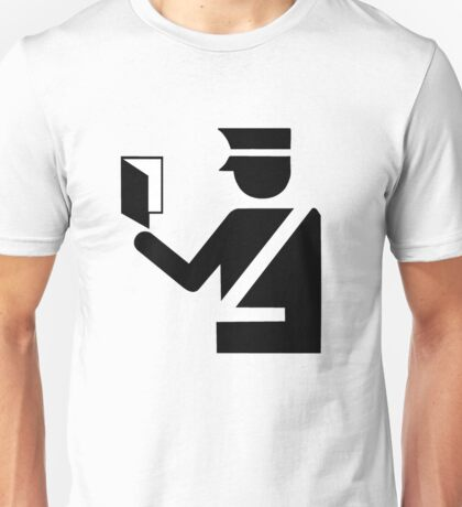Immigration Symbol Unisex T-Shirt