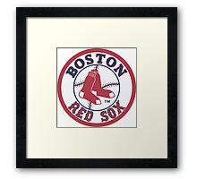 Boston redsox Framed Print