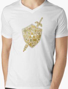 THE LEGEND ZELDA Mens V-Neck T-Shirt