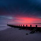 Portobello Beach at Sunrise by PhilipCormack