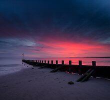 Portobello Beach at Sunrise by PhilipCormack