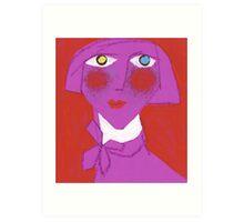 Violet Francie Art Print