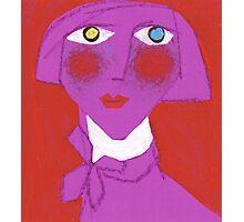 Violet Francie Photographic Print