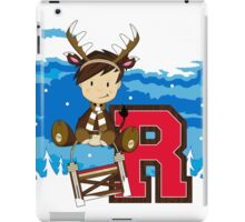 R is for Reindeer iPad Case/Skin