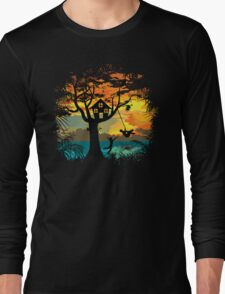 Sunset Silhouette Long Sleeve T-Shirt