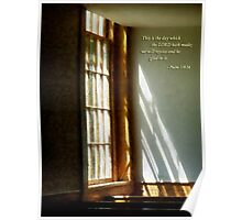 Psalm 118 24 This is the day which the LORD hath made Poster