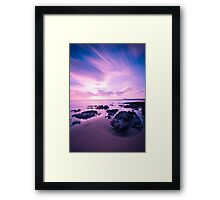 Ogmore before sunset Framed Print