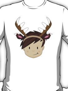Cute Reindeer Boy  T-Shirt