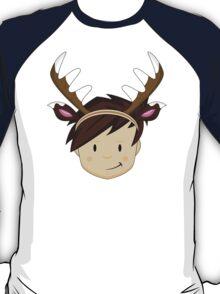 Cute Reindeer Boy  T-Shirt