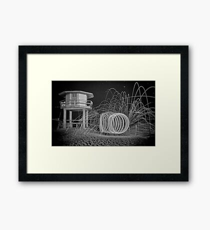Come In Spinner Framed Print