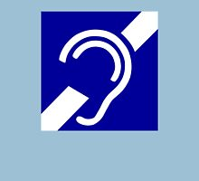 Deaf Symbol Unisex T-Shirt
