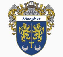 Meagher Coat of Arms/Family Crest by William Martin