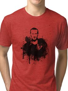 9th Doctor (Christopher Eccleston) Tri-blend T-Shirt