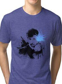 10th Doctor (David Tennant) Tri-blend T-Shirt