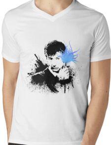 10th Doctor (David Tennant) Mens V-Neck T-Shirt