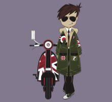 Mod Boy & Retro Scooter Kids Clothes