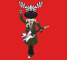 Mod Zebra with Guitar Kids Clothes