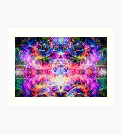 Entheogenic Enchantress  Art Print
