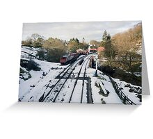 No Trains Today !!! Greeting Card