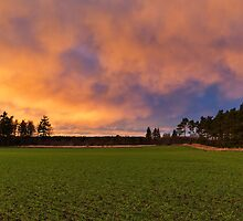 Elgin, last sunset of 2013. by JASPERIMAGE