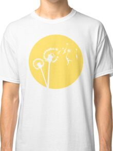 Dandylion Flight - Reversed Circular Classic T-Shirt