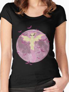 My little Pony - Flutterbat Women's Fitted Scoop T-Shirt