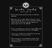 Death Note by Wollace