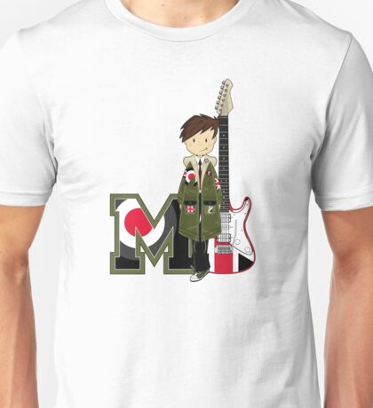M is For Mod Unisex T-Shirt