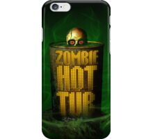Zombie Hot Tub iPhone Case/Skin