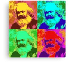 Karl Marx Pop Art Canvas Print